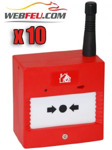 ALARME TYPE 4 RADIO X 10